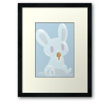 Popsicle Bunny Framed Print