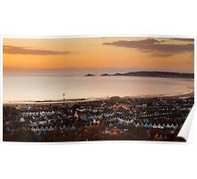 Swansea bay south Wales Poster