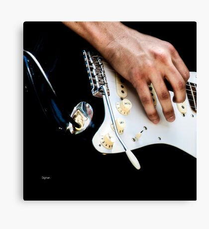 The Volume of Hands  Canvas Print