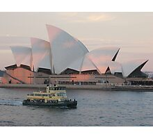 SOH at sunset Photographic Print
