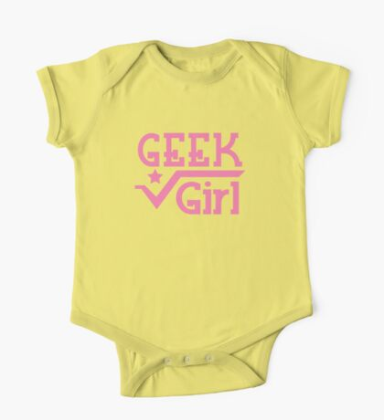 Geek Girl with pi One Piece - Short Sleeve