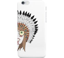 Retro Indian Hipster iPhone Case/Skin