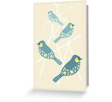 Twittering Greeting Card