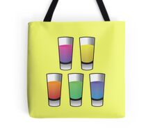 5 Shooters  Tote Bag