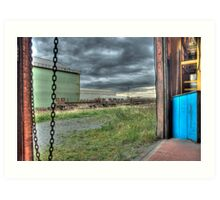 View From The Compressor House Art Print
