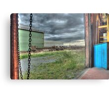 View From The Compressor House Metal Print