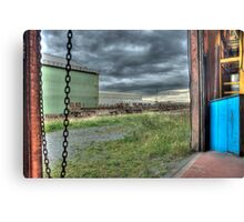 View From The Compressor House Canvas Print