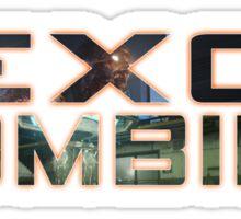 Exo Zombies Sticker