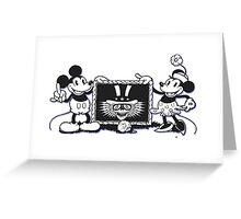 Minnie and Mickey Greeting Card