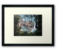 Vernazza, La Cinque Terre Framed Print