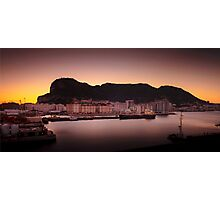 Dawn at Gibraltar Photographic Print