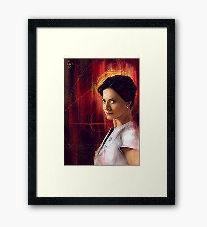 Irene Adler Framed Print