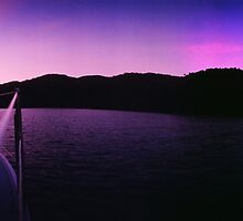 Purple Sunrise by Lachlan Doig
