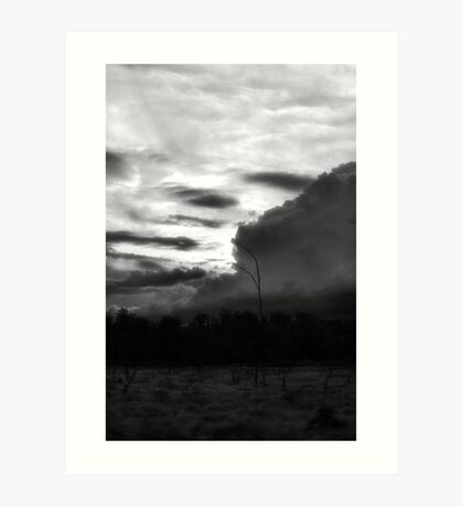 Night subsides to Day Art Print