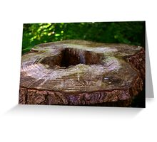 Ring of Time Greeting Card