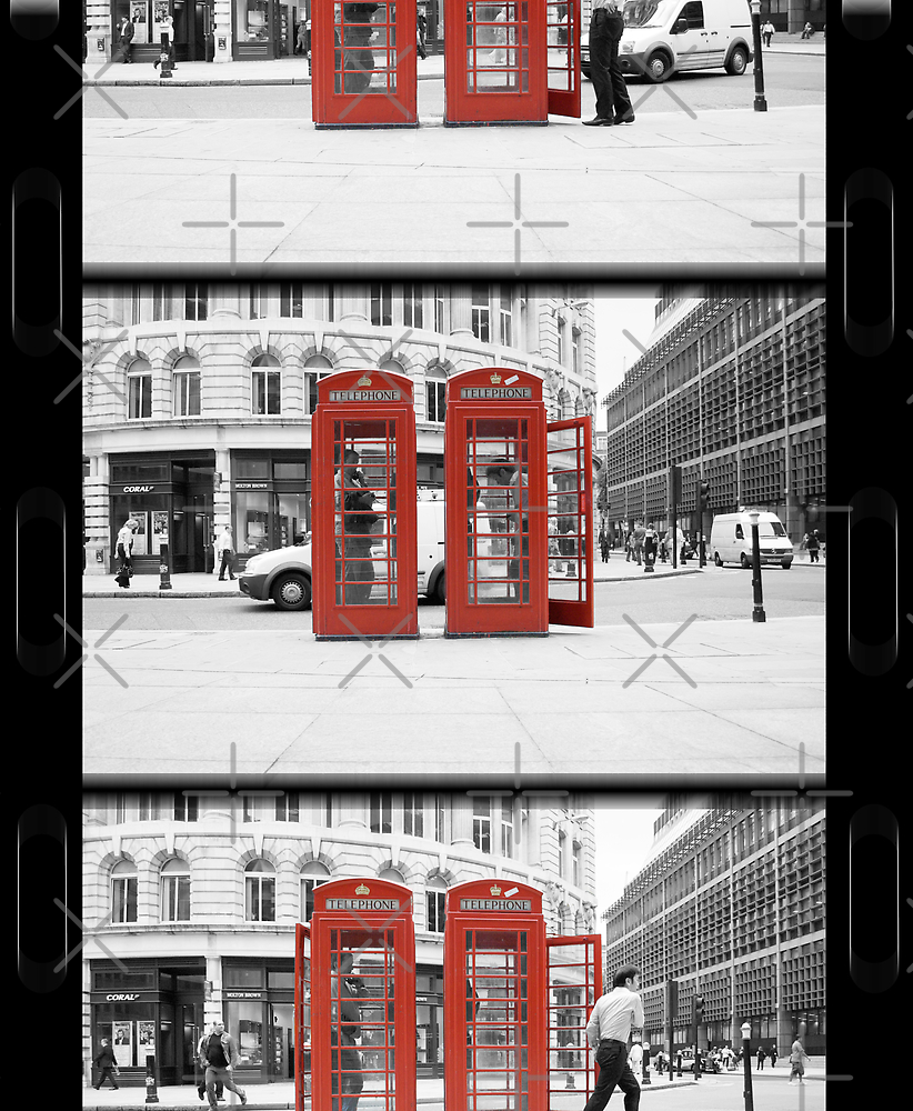 superman forgets kitbag (Selective Colour) by Umbra101