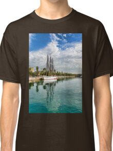 Tall Ships and Palm Trees - Impressions of Barcelona Classic T-Shirt