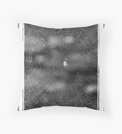 Tangled Webs Throw Pillow