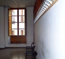 """ Waiting room."" by John  Smith"