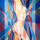 Prismatic Nude by Joseph Barbara