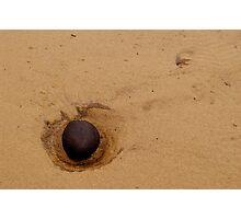 Beach Stone Photographic Print