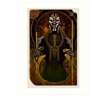 Tarot Card - Adrien Victus Art Print