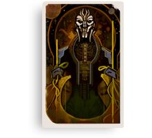 Tarot Card - Adrien Victus Canvas Print
