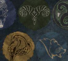 Skyrim City Seals Sticker