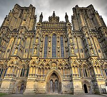 Wells Cathedral, Wells, UK by Simon Pow