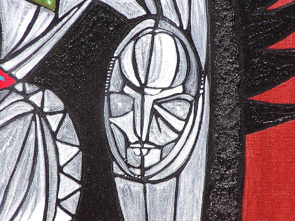 Heart Spirit (detail) by arteology