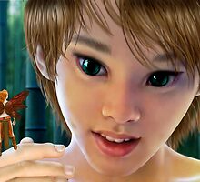 Peter and Tink by Ivy Izzard