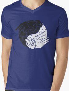 Reshiram & Zekrom Mens V-Neck T-Shirt