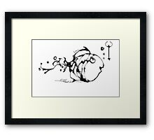 cool sketch 55 Framed Print