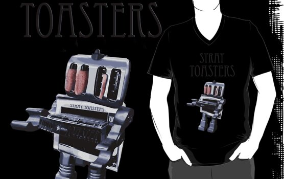 Stray Toasters band T shirt  by MarkYoung