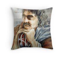 A Highlander's Dream Throw Pillow