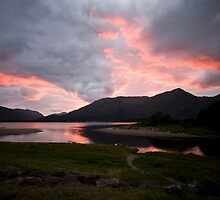 Loch Linnhe Sunset by Mark Baldwyn