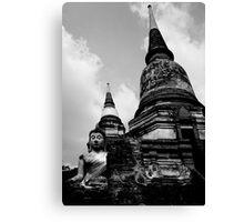 Nestled Buddha Canvas Print