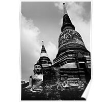 Nestled Buddha Poster