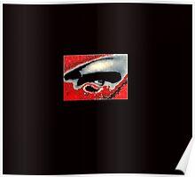 Blood shot eye Poster
