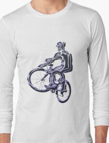 Alien Cyclist Long Sleeve T-Shirt
