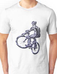 Alien Cyclist Unisex T-Shirt