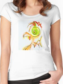 cool sketch 53 Women's Fitted Scoop T-Shirt