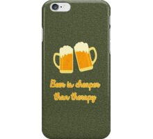 Beer Therapy iPhone Case/Skin