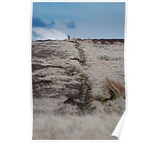 An Ancient Trod Way on Lealholm Moor Poster