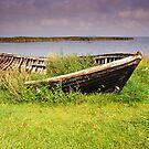 Abandoned Boat by Kasia Nowak