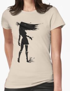She's a Lady II Womens Fitted T-Shirt