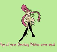 Zelda Bithday Card: Great Fairy Wishes by Alice Edwards