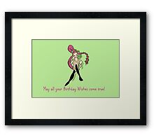 Zelda Bithday Card: Great Fairy Wishes Framed Print