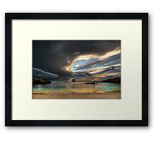 Skybreak Framed Print