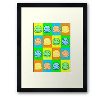 Tako Chan Pop Art V1 Framed Print